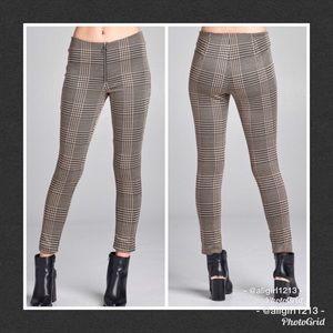 Pants - Jacquard Check Pants